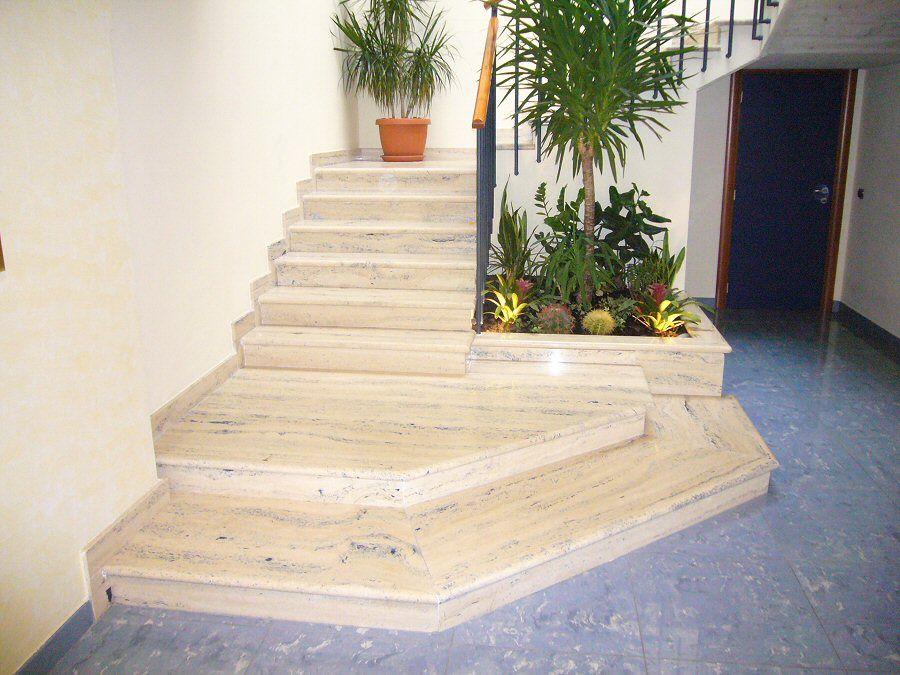 Setmarmi vendita e montaggio marmi graniti pavimenti in legno e eceramica sanitari e arredo - Rivestimento per scale interne ...